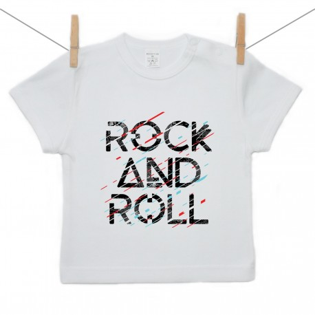 Tričko s krátkym rukávom Rock and roll