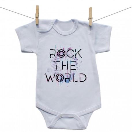 Body s krátkym rukávom Rock the world