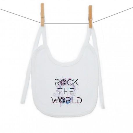 Podbradník na zaväzovanie Rock the world