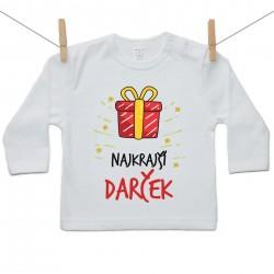 Tričko s dlhým rukávom Najkrajší darček