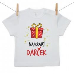 Tričko s krátkym rukávom Najkrajší darček