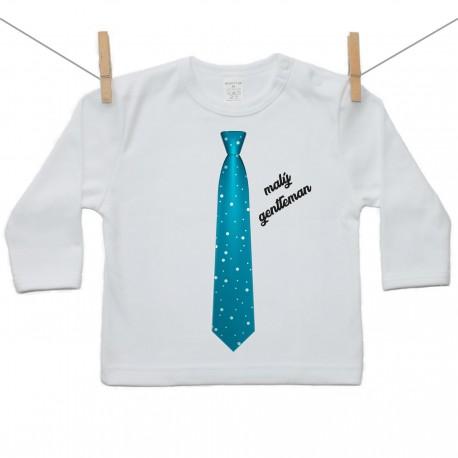 Tričko s dlhým rukávom Malý gentleman