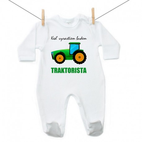 Overal Keď vyrastiem budem traktorista