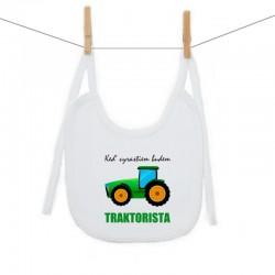Podbradník na zaväzovanie Keď vyrastiem budem traktorista