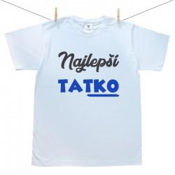 Pánske tričko s krátkym rukávom Najlepší tatko