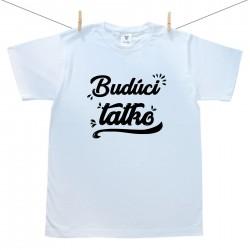 Pánske tričko s krátkym rukávom Budúci tatko