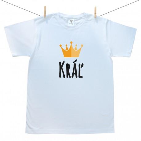 Pánske tričko s krátkym rukávom Kráľ