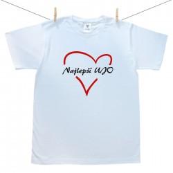Pánske tričko s krátkym rukávom Najlepší ujo