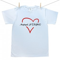 Pánske tričko s krátkym rukávom Najlepší strýko