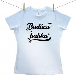 Dámske tričko s krátkym rukávom Budúca babka