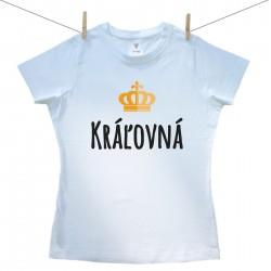 Dámske tričko s krátkym rukávom Kráľovná