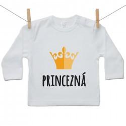 Tričko s dlhým rukávom Princezná