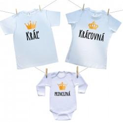 Rodinná sada Kráľ, Kráľovná, Princezná