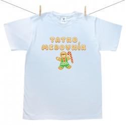Pánske tričko s krátkym rukávom Tatko medovník