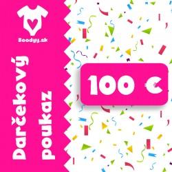 Darčekový poukaz 100 €