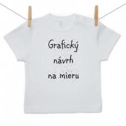 Tričko s krátkym rukávom s vlastnou grafikou