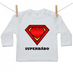 Tričko s dlhým rukávom SuperBábo