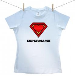 Dámske tričko s krátkym rukávom SuperMama