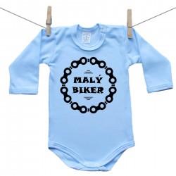Body s dlhým rukávom (modré) Malý biker