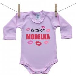 Body s dlhým rukávom (ružové) Budúca modelka