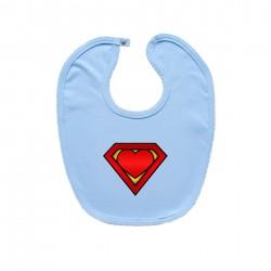 Podbradník na zapínanie (modrý) SuperBábo