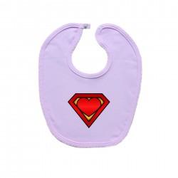 Podbradník na zapínanie (ružový) SuperBábo
