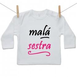 Tričko s dlhým rukávom Malá sestra
