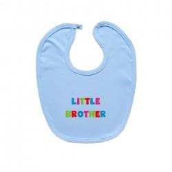 Modrý podbradník na zapínanie Little brother