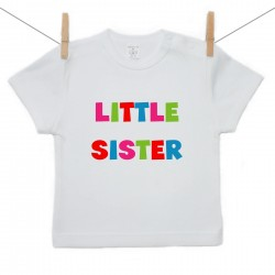 Tričko s krátkym rukávom Little sister