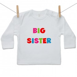 Tričko s dlhým rukávom Big sister