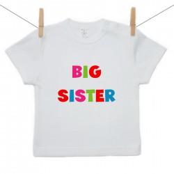 Tričko s krátkym rukávom Big sister