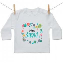Tričko s dlhým rukávom Malý šibač