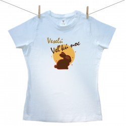 Dámske tričko s krátkym rukávom Veselú Veľkú noc