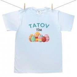 Pánske tričko s krátkym rukávom Tatov tím
