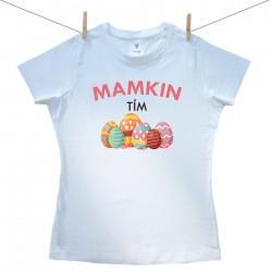 Dámske tričko s krátkym rukávom Mamkin tím