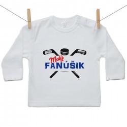 Tričko s dlhým rukávom Malý fanúšik