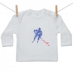 Tričko s dlhým rukávom Hokejista