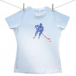 Dámske tričko s krátkym rukávom Hokejista