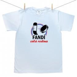 Pánske tričko s krátkym rukávom Hokejista