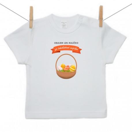Tričko s krátkym rukávom Oblejem len malíčko