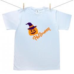 Pánske tričko s krátkym rukávom Happy Halloween