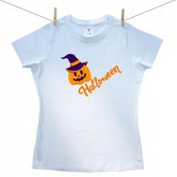 Dámske tričko s krátkym rukávom Happy Halloween