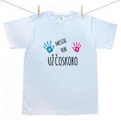 Pánske tričko s krátkym rukávom Už čoskoro