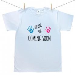 Pánske tričko s krátkym rukávom Coming soon