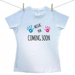 Dámske tričko s krátkym rukávom Coming soon
