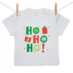 Tričko s krátkym rukávom HO HO HO!