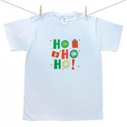 Pánske tričko s krátkym rukávom HO HO HO!