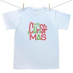 Pánske tričko s krátkym rukávom Merry Christmas