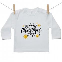 Tričko s dlhým rukávom Merry Christmas