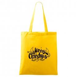 Žltá taška Merry Christmas